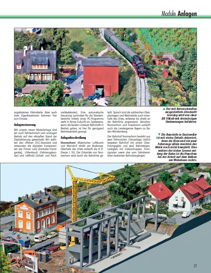 Bild 6 des Magazintextes mit freundlicher Genehmigung des N-Bahnmagazines.