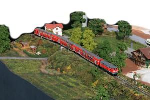 Alltagsbetrieb am ehemaligen Bahnwärterhäuschen